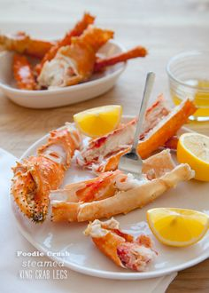 Easiest Way to Cook King Crab Legs || FoodieCrush