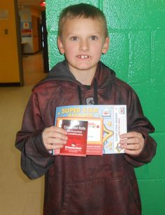Robert is our Kid of the Day! He enjoys playing games with his friends in the gym.