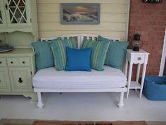 Repurposing Old Cribs & Crib Mattresses
