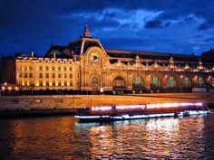 Musee d'Orsay. Successfully converted from a train station to a museum, this building, beautifully located on the Seine, houses the greatest collection of Impressionism in the world. Not to be missed when in Paris.