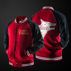 Baseball Jacket Game of thrones Stark - Idol Store - Geek Cloud
