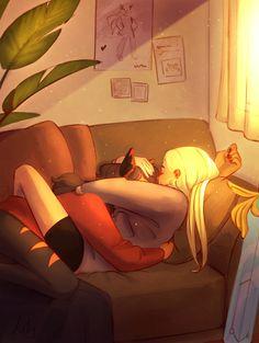 #catradora #shera #catra #adora #artwork #fanart Cute Lesbian Couples, Lesbian Art, Yuri Anime, Anime Art, She Ra Princess Of Power, Fan Art, Percabeth, Drarry, Reylo