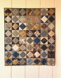 Frivols 3 Finished, and Frivols and (oh, boy! Scrappy Quilts, Easy Quilts, Mini Quilts, Quilting Projects, Quilting Designs, Mini Quilt Patterns, Primitive Quilts, Japanese Quilts, Civil War Quilts