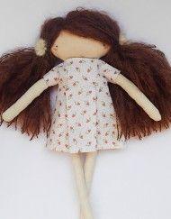 MyCuddle™ - Agata - Organic Doll - Handmade in Italy with love