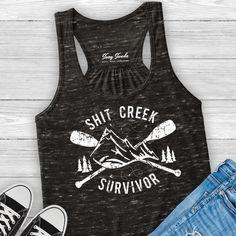 Shit Creek Survivor Tank Top