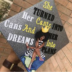 for more content Funny Graduation Caps, College Graduation Pictures, Graduation Cap Toppers, Graduation Cap Designs, Graduation Cap Decoration, Graduation Diy, Grad Cap, Custom Graduation Caps, Graduation Parties