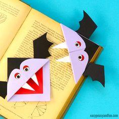 Vampire Corner Bookmark for Kids