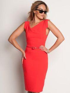 Arielle, vestido rojo