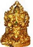 Gold color plated ganesha available for Hyderabad delivery. we deliver all types of fresh gifts to Hyderabad from our website. Visit our site : www.flowersgiftshyderabad.com/Diwali-Gifts-to-Hyderabad.php