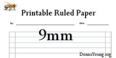 Printable Lines Paper Donna Young Everything You Need For Homeschooling  Graph Paper .