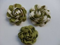 Tutorial de confecзгo de rosas de sianinha tranзada