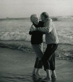 Dancing on the beach...fun!