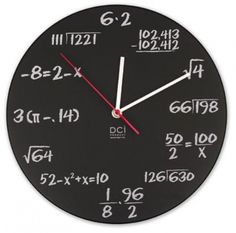 Pop quiz clock. Shop now at www.hardtofind.com.au