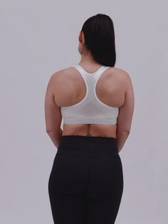 The ENELL Racer is a medium impact sports bra with no wires and easy front hook closure. New Bra, Range Of Motion, Lineup, Things That Bounce, Closure, Workout, Medium, Fitness, Sports