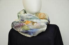 linen scarf made in italy
