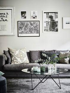 design attractor: Bohemian Apartment with Floral Decor Scandinavian Interior Design, Scandinavian Living, Home Interior Design, Design Interiors, Diy Furniture Easy, Home Furniture, Furniture Projects, Living Room Inspiration, Interior Inspiration