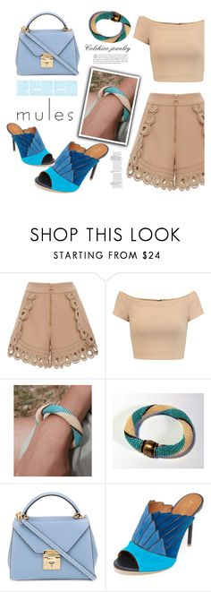 """""""Slip 'Em On: Mules"""" by samra-bv ❤ liked on Polyvore featuring self-portrait, Alice + Olivia, Mark Cross, Malone Souliers, mules, polyvorefashion, Spring2017 and colchicojewelry"""