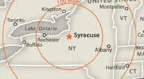 Syracuse is centrally located to many cities in the NE and Canada. It sits on Oneida Lake. The University was founded in 1870 Oneida Lake, Syracuse University, Upstate New York, School Fun, Letting Go, Cities, Landscaping, Canada, Magic