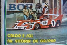 Carlos Gaspar,  Lola T292, Team BIP - Ecurie Bonnier (Banco Intercontinental Português), Circuito Vila Real, 1973 (winner). Tags: portuguese portugal bank
