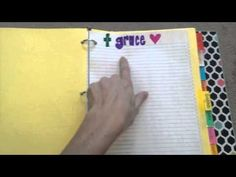 How to Make a Prayer Notebook - Intentional By Grace