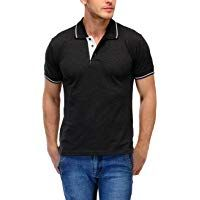 Scott International Men's Cotton Polo T-Shirt