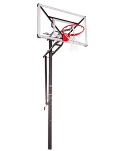 Explore our collection of the best home in-ground basketball hoops, including regulation size and height adjustable hoops that provide professional-level performance. Basketball Court Flooring, College Basketball, Rebounding, Explore, Collection, College Basket, Exploring