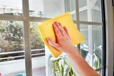 """Bob's Tip of the Day: Save yourself the time and expense of trying every """"streak-free"""" window cleaner on the market. Instead, mix one part vinegar to two parts water in a spray bottle. Wipe off using black-and-white newspaper or a lint-free towel."""