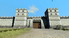 Die Mauern der römischen Städte sind hoch und unüberwindbar, wenn die Legionen sie noch verteidigen, dann wird jeder Angreifer dort sterben.  Total War Rom 2 Emperor Edition, Caesar in Gallien , Mod: Divide et Impera