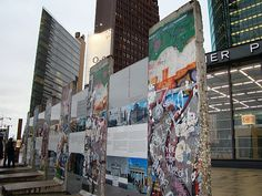 Visit the site of the Berlin Wall