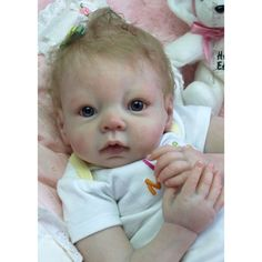 Reborn baby doll vinyl kit unpainted W//  FREE GIFT Ryan 20  parts only