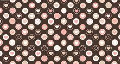 Tiled Pink Hearts Twitter Background Twitter Backgrounds