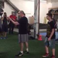 It's great to have a preconceived idea of how they would respond to an attacker, but remember that it's the scenario that ultimately dictates your response. You will respond differently depending on whether your alone, with a friend or with a child. In this scenario a disgruntled father believes the boy in the video has beat up his son. After a brief verbal exchange, tempers flare and the other father must take action to protect his son and prevent the situation from escalating further…