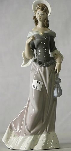 Buy online, view images and see past prices for LLADRO FIGURINE. Invaluable is the world's largest marketplace for art, antiques, and collectibles. Halloween Miniatures, Beautiful Figure, Collectible Figurines, Swarovski, Porcelain, Glasses, Antiques, Funny, Beauty
