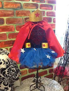 Wonder Woman tutu  childrens costume by parisianbridal on Etsy, $49.99