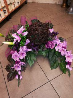 Cemetery Flowers, Funeral Flowers, Ikebana, Flower Arrangements