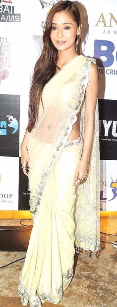 Sara Khan at the launch of the Box Cricket League #Style #Bollywood #Fashion #Beauty #BCL