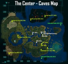 The Center, Map.