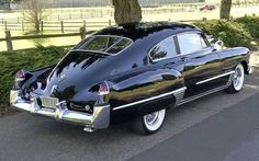The last off the big fastbacks - 1949 Cadillac Sedanette::