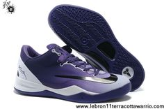 Discount 615315 500-4 Kobe 8 System MC Mambacurial FB Club Purple White Black Fashion Shoes Shop