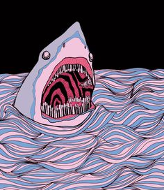 Probably what u look like in the water. No wonder u smile with a closed mouth. I would to if my teeth look like urs. Ha ha