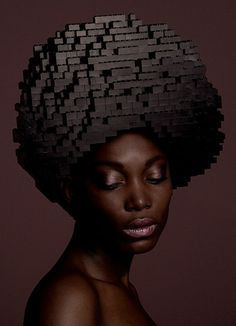 Because it is weird... :) Creative wigs made out of LEGO bricks by talented Dutch artist Elroy Klee.
