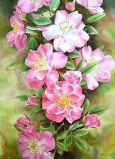 Цветочные иллюстрации фото #6