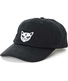 234c507e46c Empyre Solstice Mystical Cat Black Baseball Hat Dad Hats