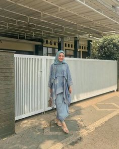 Kebaya Modern Hijab, Model Kebaya Modern, Kebaya Hijab, Kebaya Dress, Kebaya Muslim, Hijab Dress Party, Hijab Style Dress, Casual Hijab Outfit, Ootd Hijab