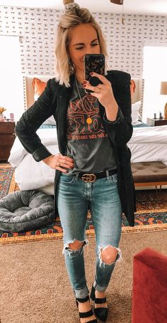 Over 30 brilliant spring outfits that you can copy now - . - Girls Fashion Over 30 brilliant spring outfits that you can copy now - . Punk Outfits, Fall Outfits, Fashion Outfits, Mom Outfits, Fashion Hats, Fashion Ideas, Summer Outfits, Fashion Over, Girl Fashion