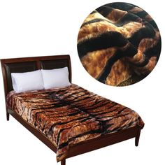 Queen-King-Blanket-Luxury-Blanket-Heavy-bed-cover-Tiger-Print-warm-soft-plush