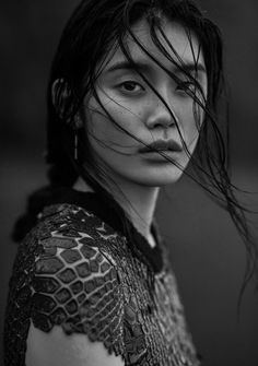 vogue-at-heart:  Ming Xi inThe Silence Of The Sea for Vogue...