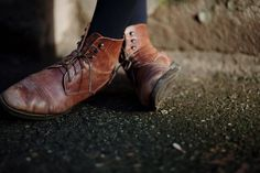 brown leather lace-up boots Anastasia, Tap Shoes, Dance Shoes, Kubo And The Two Strings, Mode Shoes, Shoe Collection, Combat Boots, Ankle Boots, Style Me