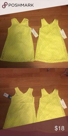 NWT Oshkosh Yellow Dress 👗 Size 2T Lot of 2 Brand New Oshkosh Yellow Dress 👗 Size 2T  Lot of 2 Osh Kosh Dresses Casual