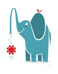 Elefantes na decoração do Quarto Infantil - Dicas pra Mamãe